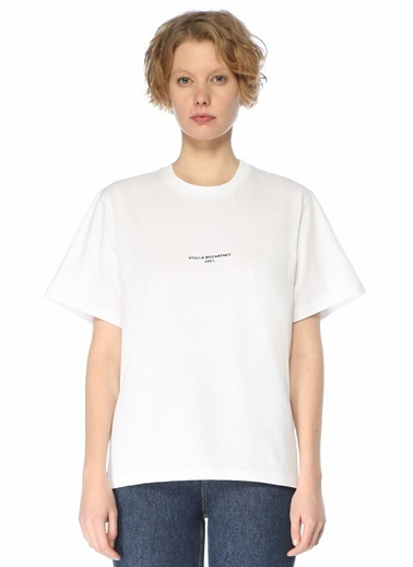 Stella McCartney Polo Yaka T-shirt Beyaz